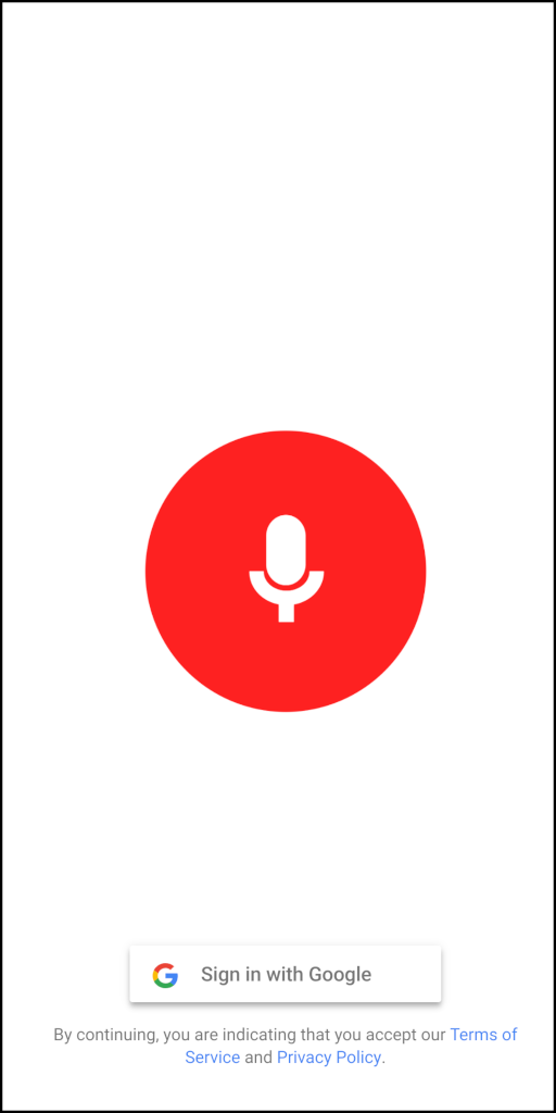 QnA VBage Make Audio Recordings with Actions on Google