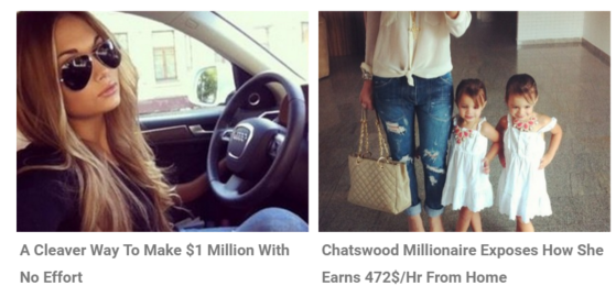 Work for a millionaire