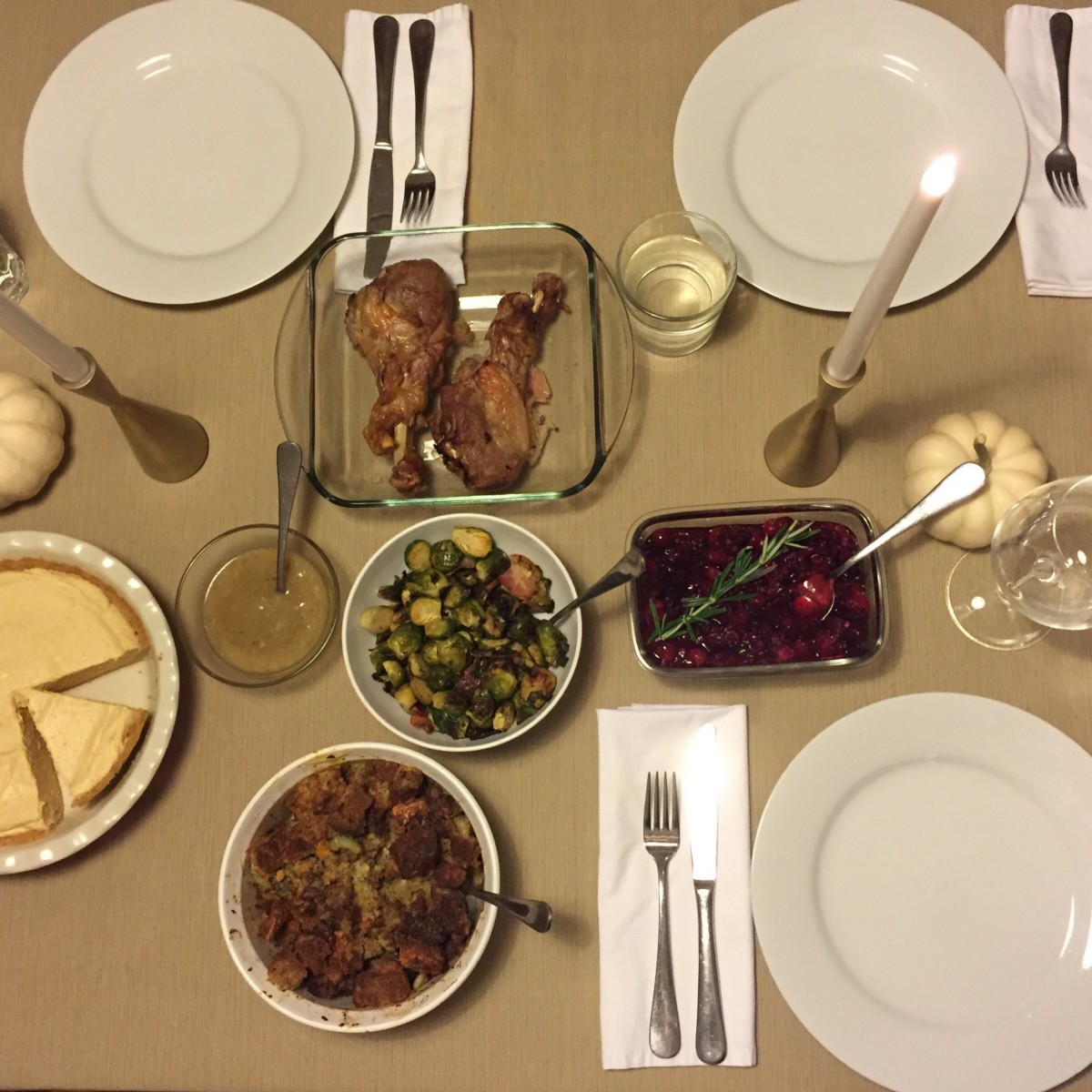 I Call It Our Thanksgiving Pre Game Its An Elaborate Feast I Cook For My Immediate Family The Week Before Thanksgiving For Someone Who Loves To Cook And