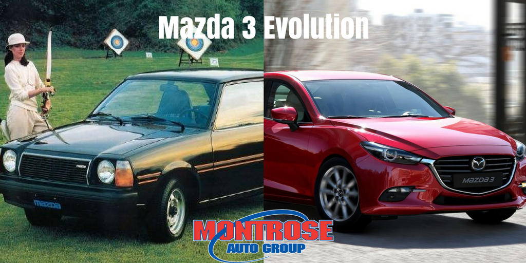 Mazda 3 over the years montrose auto group medium for Montrose motors montrose pa