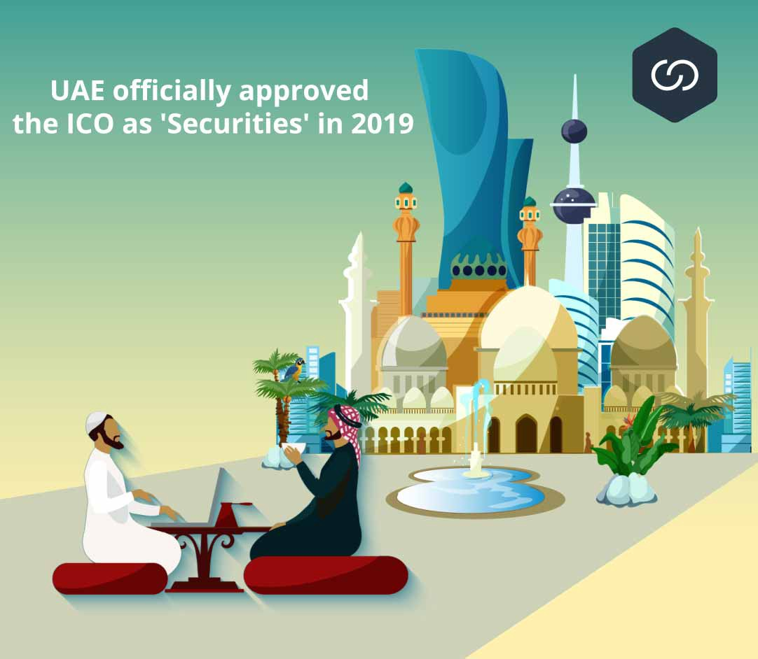 UAE officially approved the ICO as 'Securities' in 2019