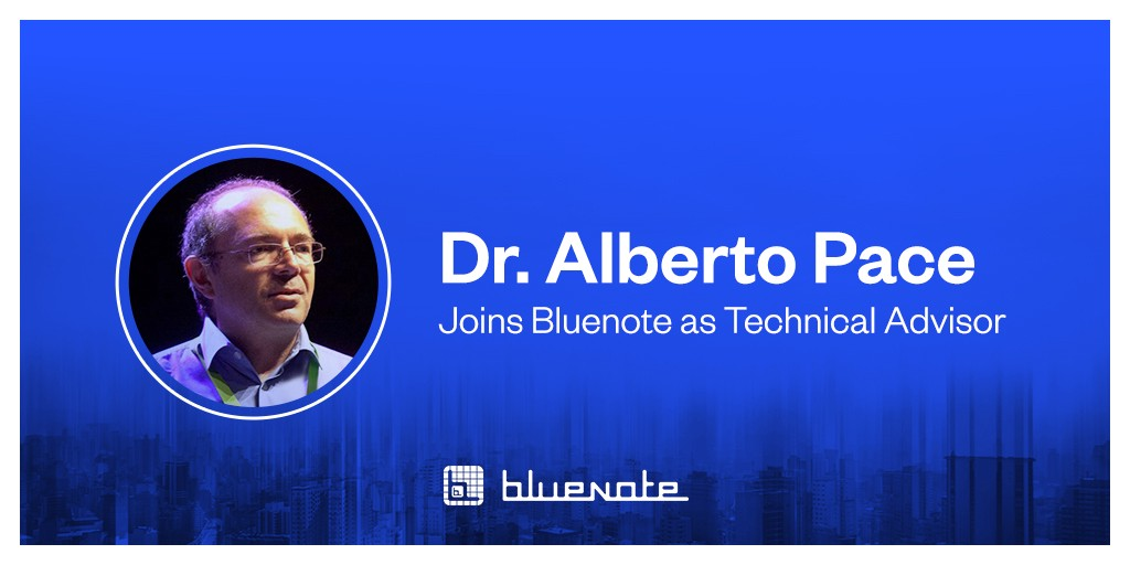 3d42603a1d8bb ... Alberto Pace as technical advisor. He will add his expertise in data  management and technical infrastructure as the Bluenote project nears its  public ...