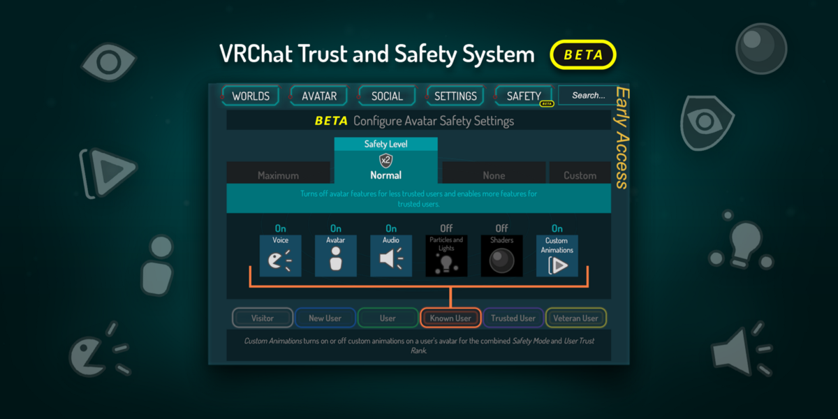 VRChat Safety and Trust System – VRChat – Medium