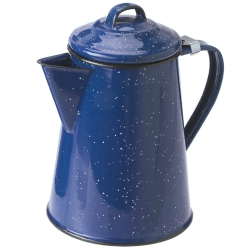 Coffee Pot 8 Cup Blue From Gsi Outdoors