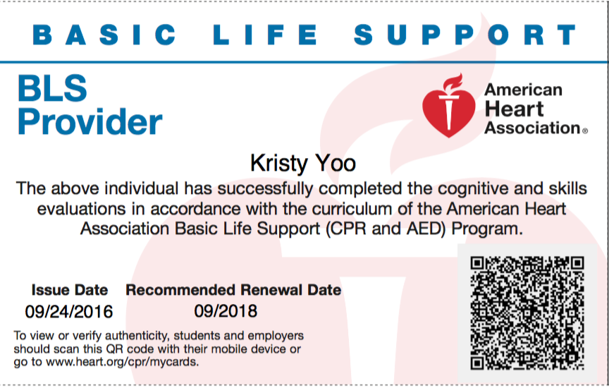 Basic Life Support Healthy Communities Weekly Medium
