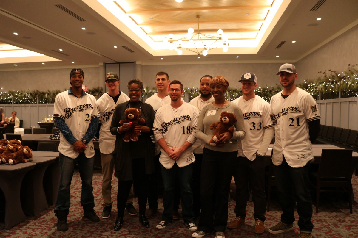 Brewers and build a bear workshop team up with miracle league of ceremony and birth certificate distribution following the build the players enjoyed lunch with the kids and their parents aiddatafo Image collections