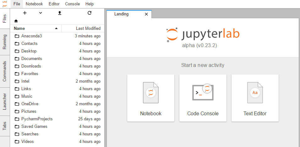 How to install Jupyter Lab