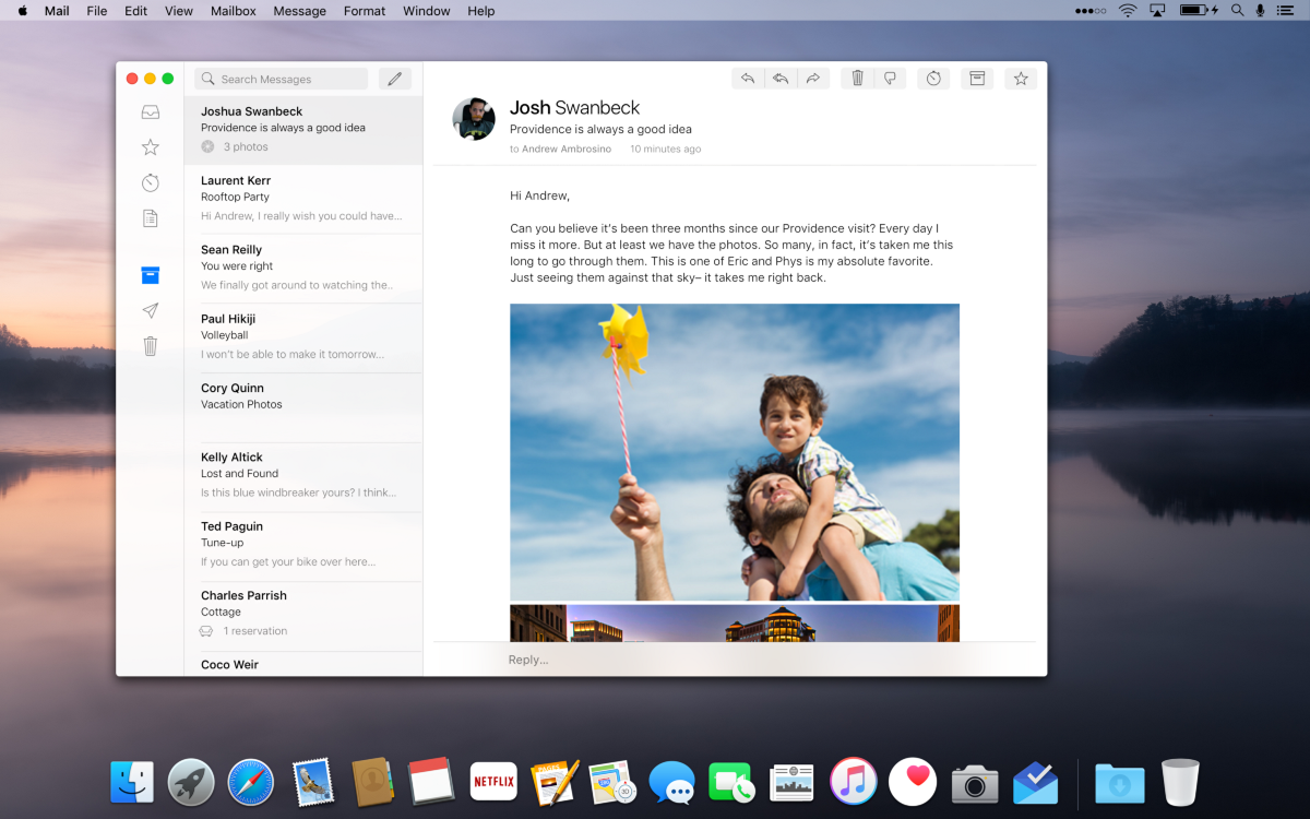 macos mail concept