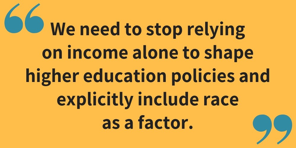 Racial Gaps In Education How Much Do >> The Time To Act Is Now Let S Tackle The Race Gap In Higher Education