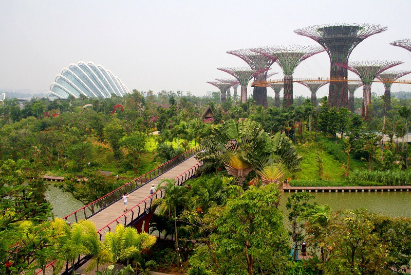 garden by the bay east entrance