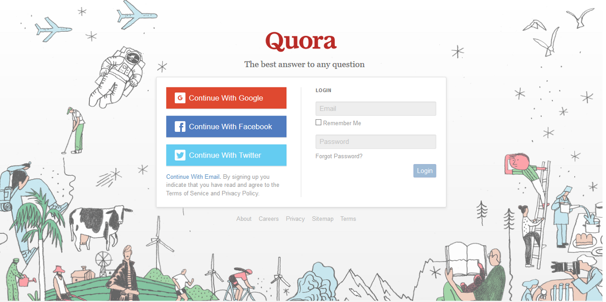 quora a site that connect people to the world of knowledge