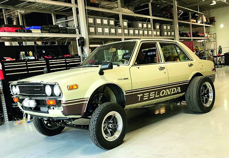 Teslonda Is An Antique Honda Accord That Uses A Tesla