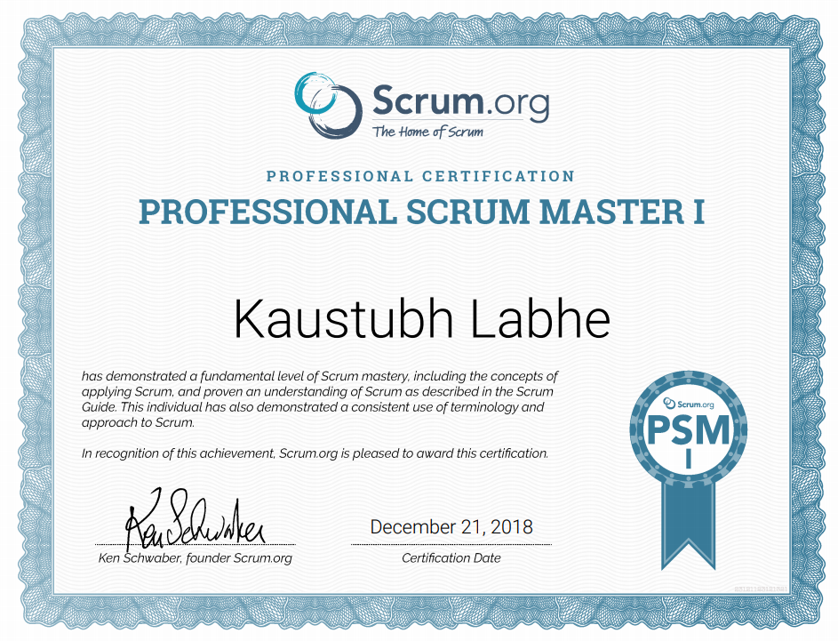 Simple Tips To Pass Your Psm1 Certification Kaustubh Labhe Medium