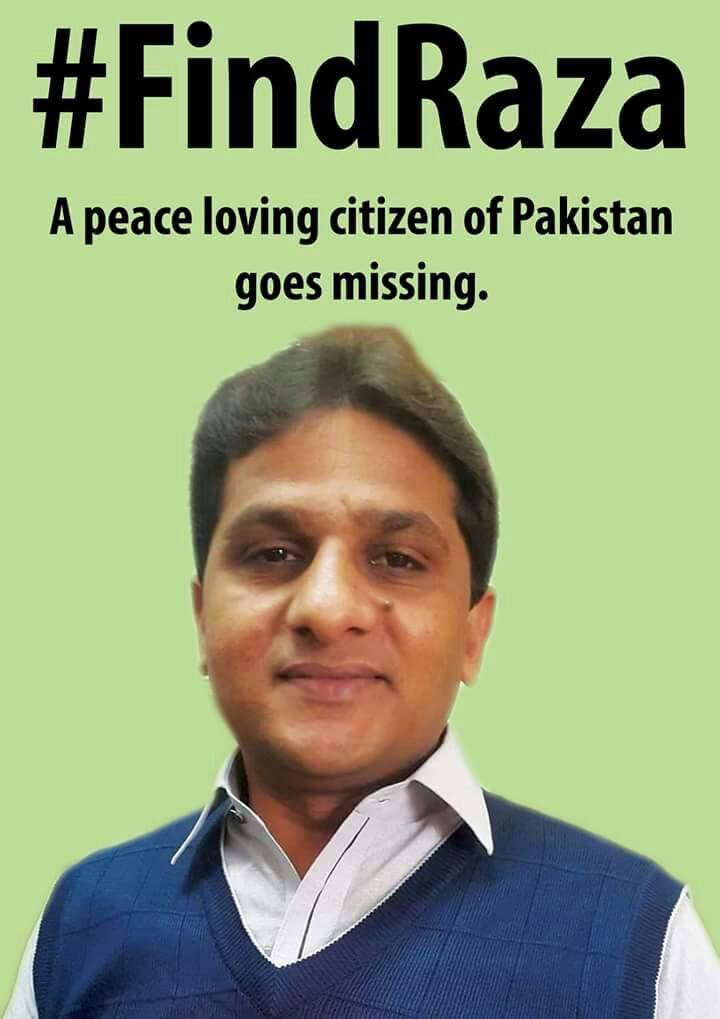 who is raza khan why is he missing and why do i care