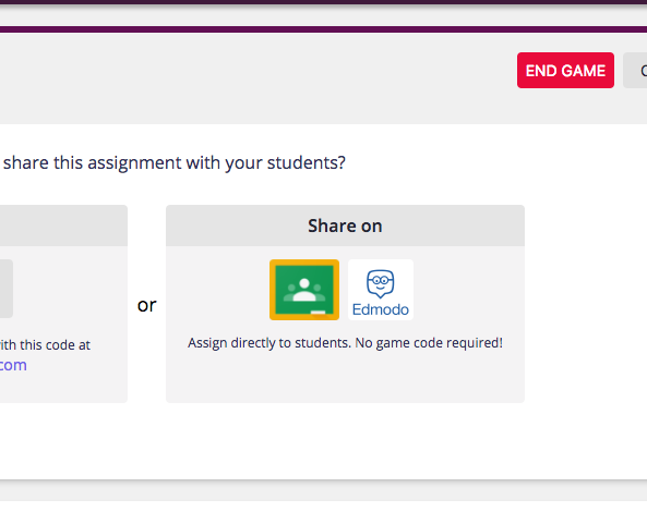 Quizizz now integrates with edmodo quizizz live game on the left and the homework game on right stopboris Gallery