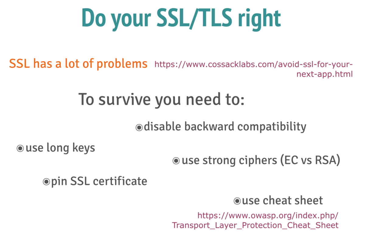 Data protection for mobile client server architectures but using ssl encryption is not enough ssl was proven to have weak forward secrecy which means that if the encryption key is leaked xflitez Image collections