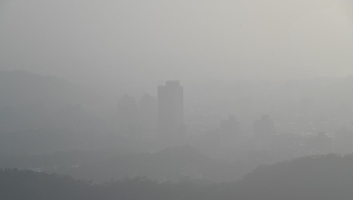 The biggest single source of PM2.5 in Taiwan's air is mainland China, study finds