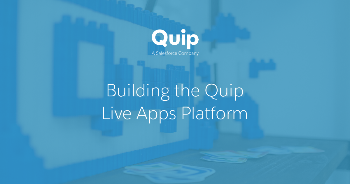 Embedding third-party React apps in Quip for fun and profit - Part 1