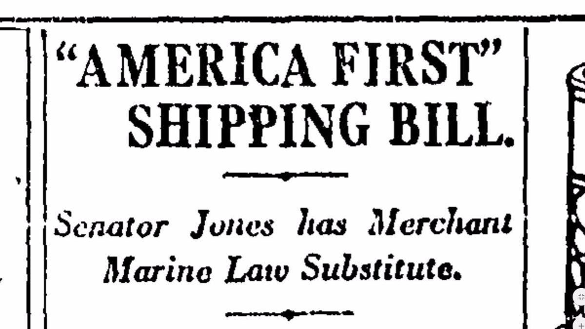 "When ""America First"" Backfires — How the Jones Act is Impairing ..."