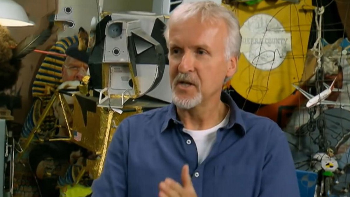 james cameron directing style