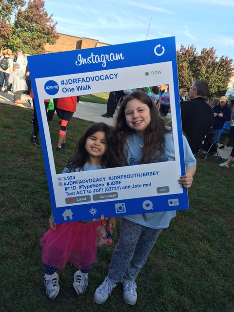 Voorhees family preparing for JDRF One Walk at end of October