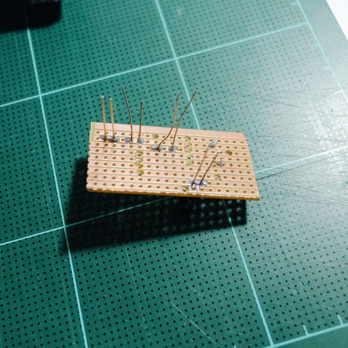 Building My Own Mechanical Keyboard Armno Prommarak Medium Now You Can Solder The Wires To Circuit Board But Before That I Fortunately Have Some Leftover Parts Of Boards Diodes Led Lights At Home Along With Soldering Iron Took Them And