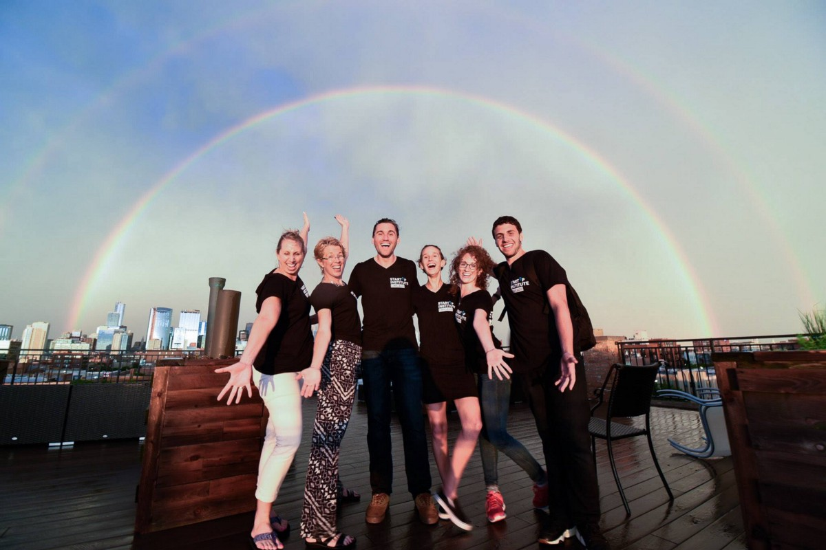 An awesome photo of our awesome staff team. Photo by Sean Su, on behalf of CloudSpotter.
