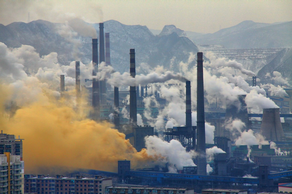 """china and environment China's environmental challenges at home are daunting, exemplified by the dramatic images of air pollution """"red alerts"""" in beijing and other major cities."""