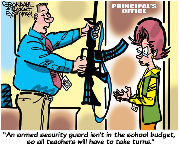 should there be armed guards at While the district will consider adding guards at roughly 30 school sites  superintendent: sfps will consider armed guards at there are no recent results for.