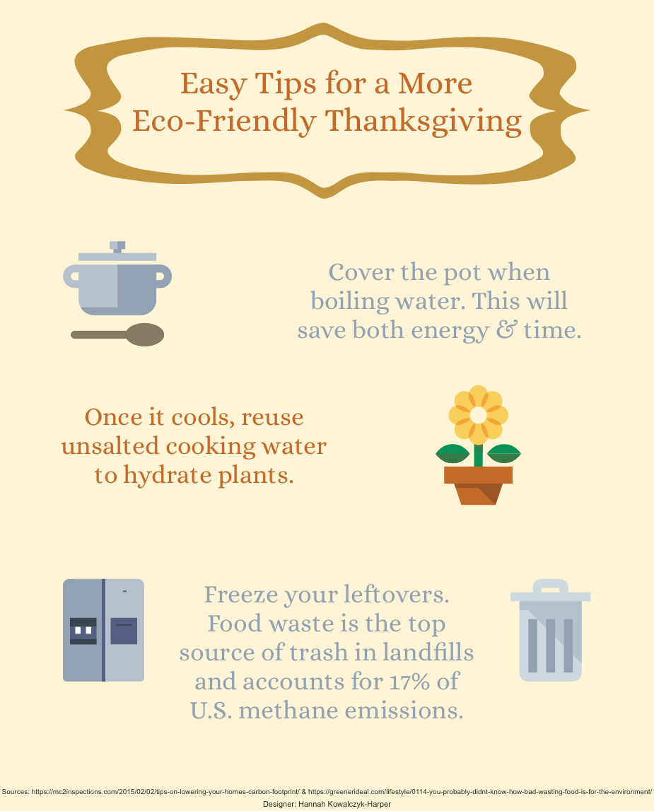 Easy tips for a more eco friendly thanksgiving infographic - Eco friendly ideas ...