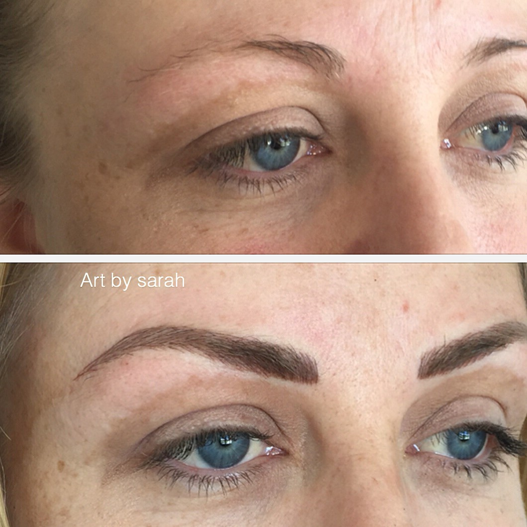 Let\'s understand Feather Touch Eyebrow Tattoo – Beautiful Brow ...