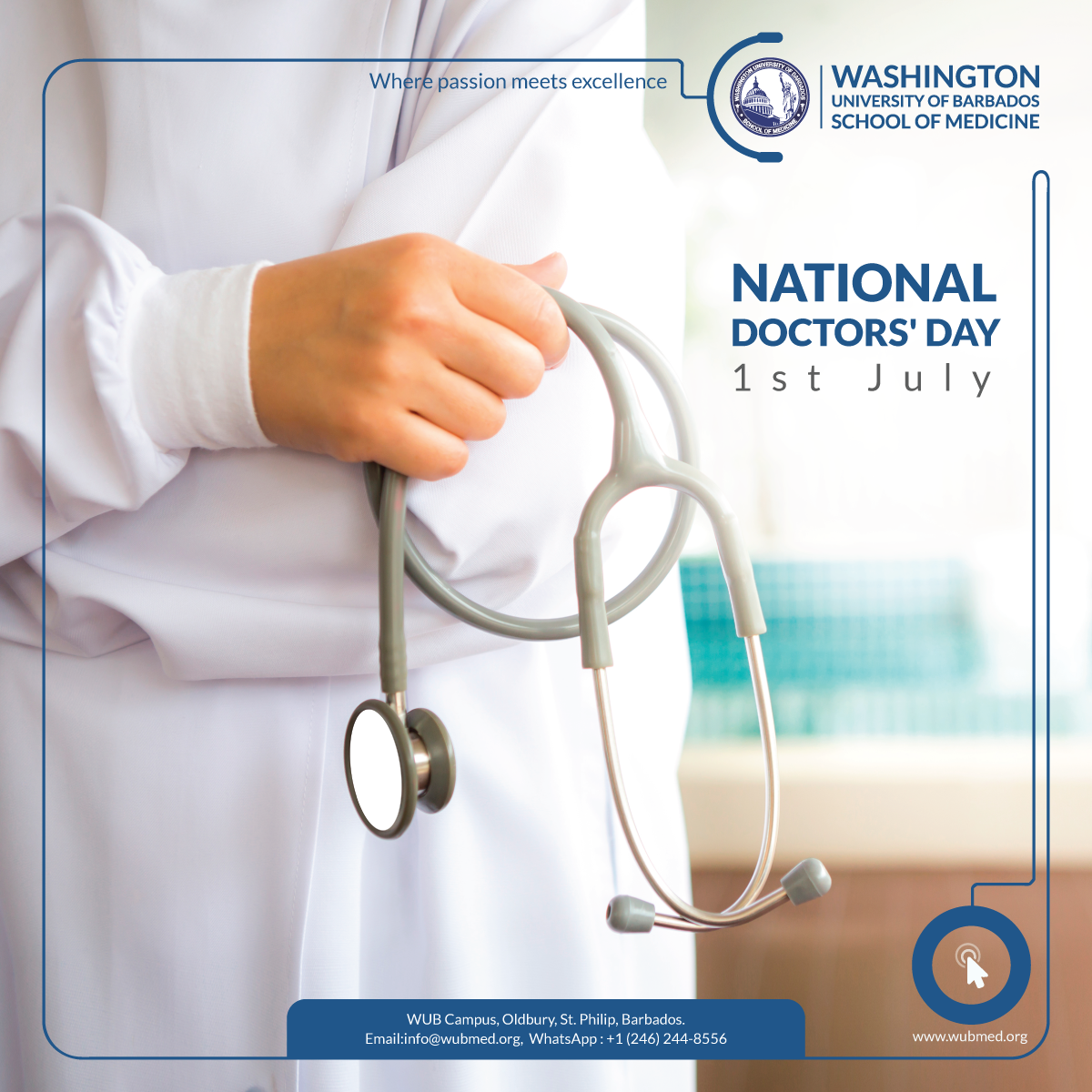 Greetings On The Occasion Of Doctorsday Washington University Of