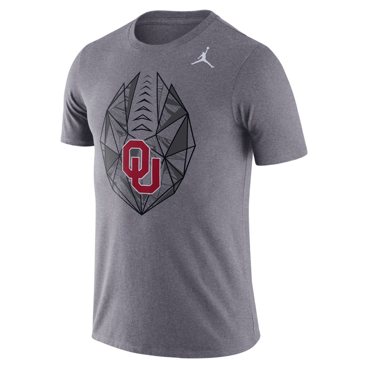 f1b3811b9 Jordan Men s Oklahoma Sooners Dri-FIT Football Icon T-Shirt