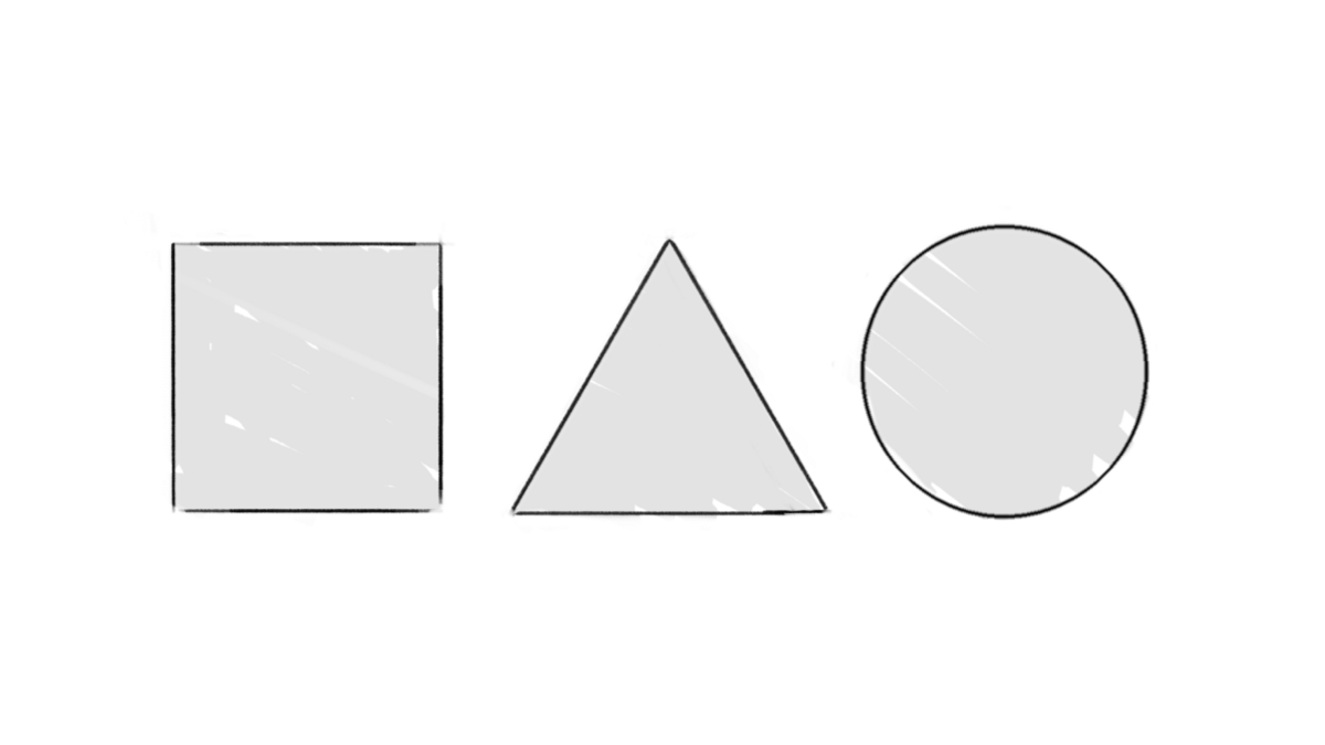 If you can draw these three shapes you can draw the internet for A website where you can draw
