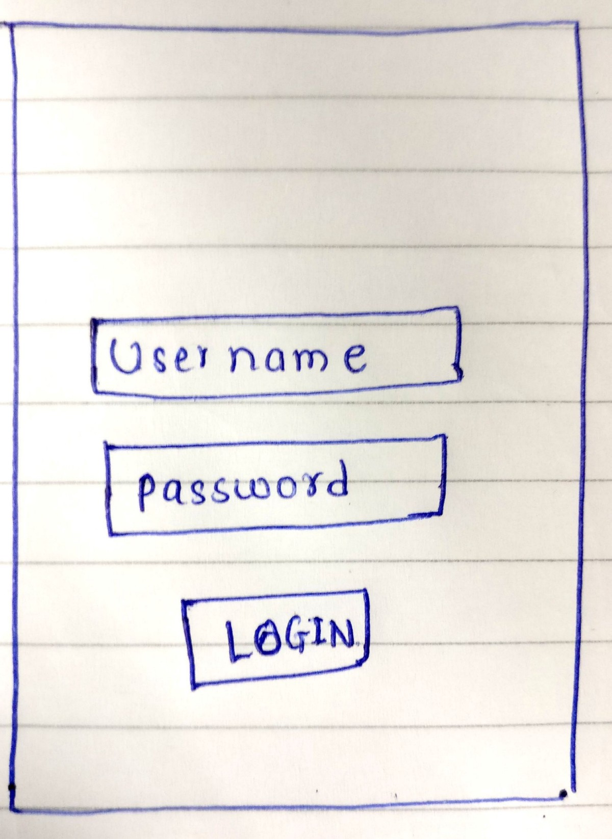 How to do tdd in android part 3 mocking integration testing lets create ui for login as shown in diagram i know you will make better ui than this pooptronica Choice Image