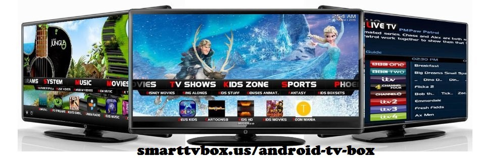 Android TV Box Devices Streaming player in USA – Smart TV