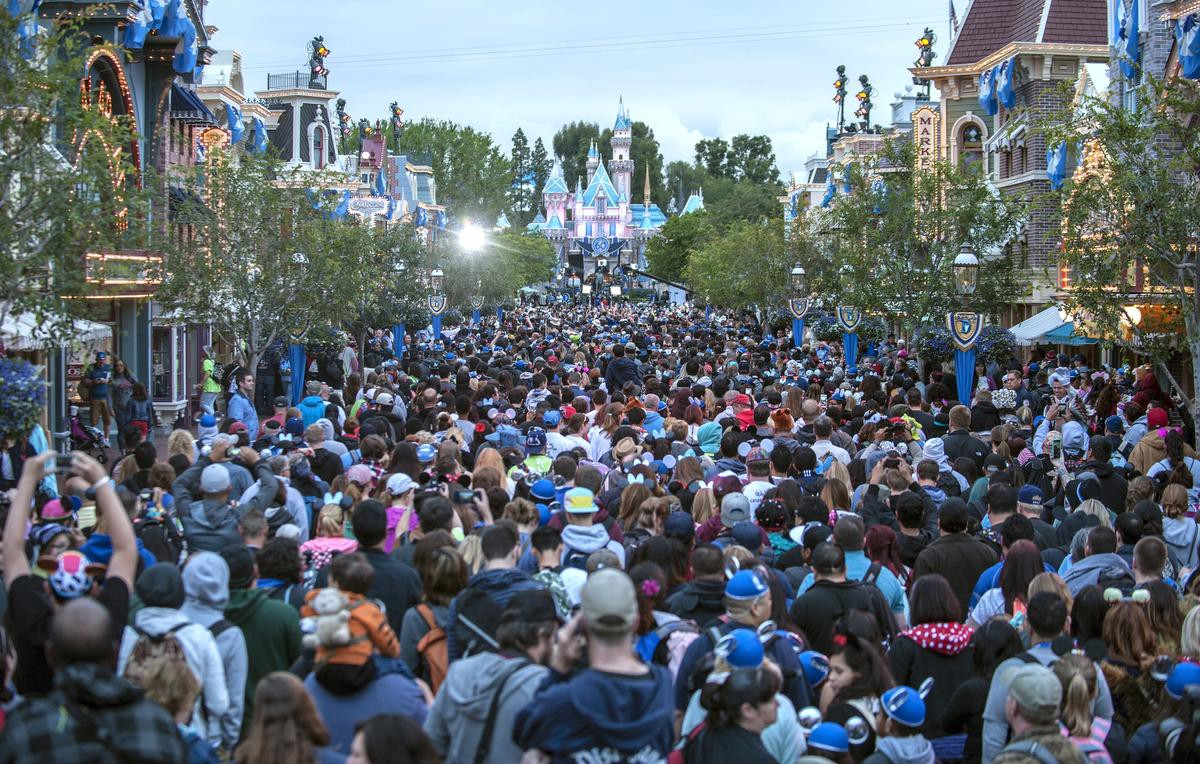 "Disneyland at capacity is not the ""Happiest Place on Earth""."