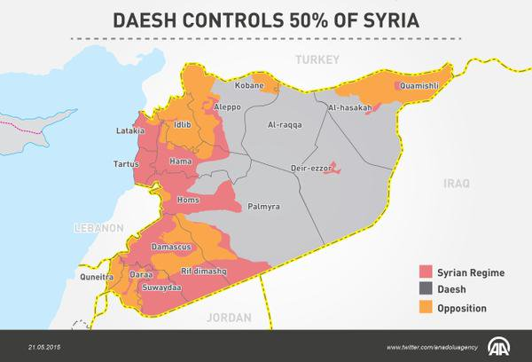 A Dummys Guide To Mapping Daesh Indices - Syria interactive map