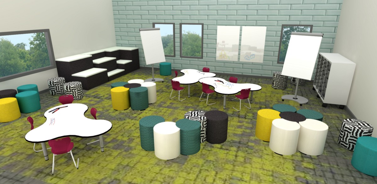 Classroom Layout Importance ~ How furniture and flexible seating is turning classroom