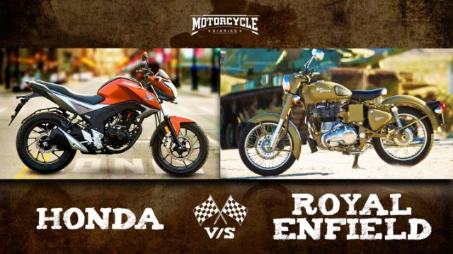 Honda Vs Royal Enfield Honda Developing Royal Enfield Rival
