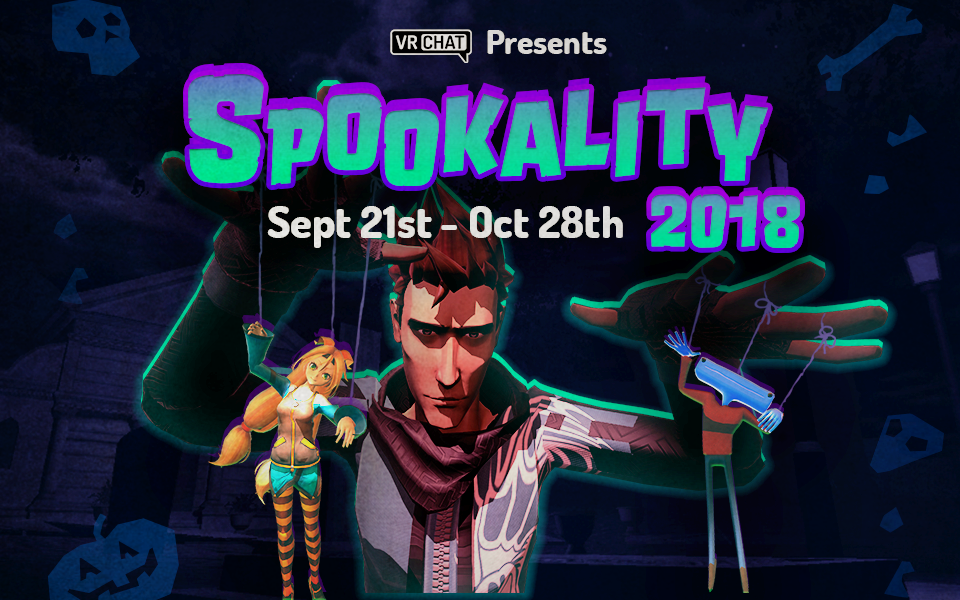 "Win prizes in ""Spookality"", our 2018 Halloween Contest"