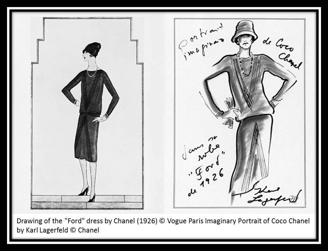 It Started In 1926 Coco Chanel Designed The Simple Yet Innovative Little Black Dress Once Vogue Introduced And Instantly Became A Hit