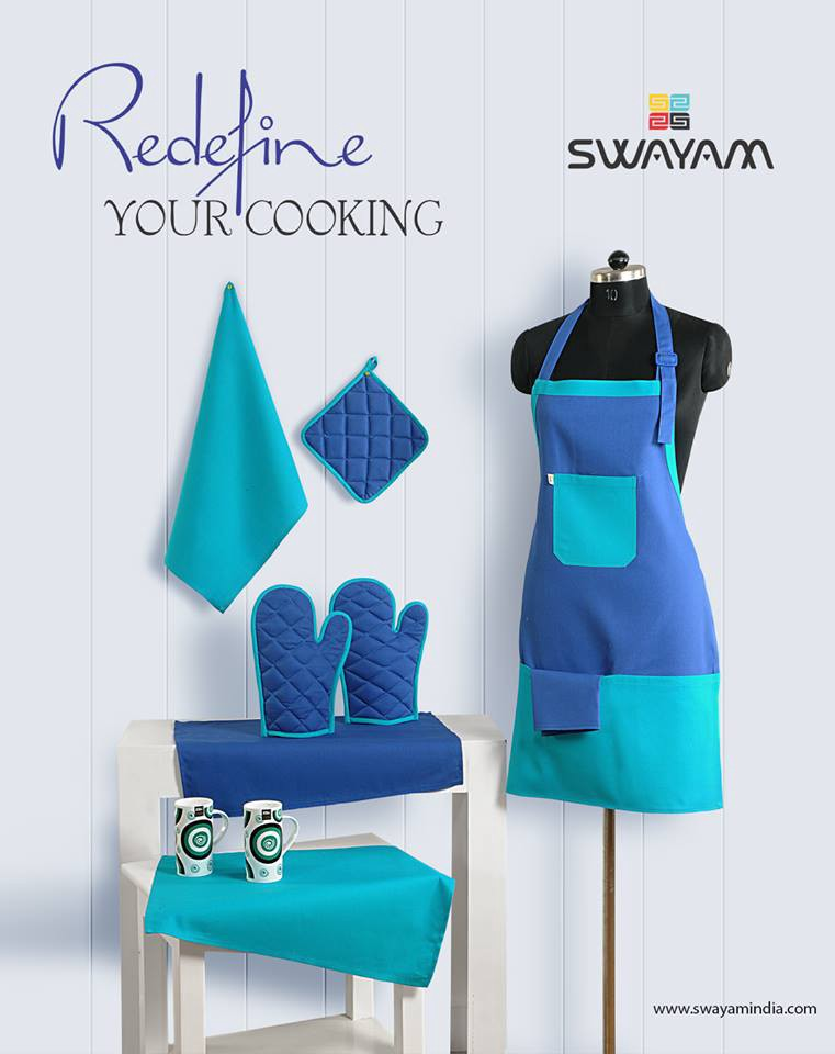 Cook Professional Feel Stylish in Designer Kitchen Aprons