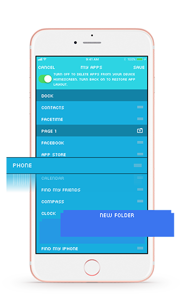 Introducing app organizer ourpact medium select the app organizer icon at the top of their ourpact jr dashboard highlighted in the image above ccuart Image collections