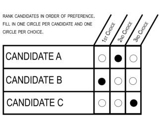 Ranked Choice Voting insures that a candidate can only win with a majority supporting them