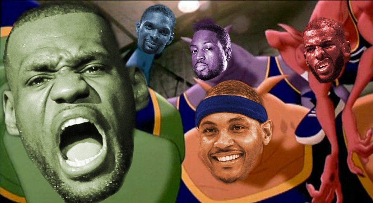 Rumors of a Space Jam 2 featuring Lebron James began circulating the web in  2014. That winter 0c804a20e