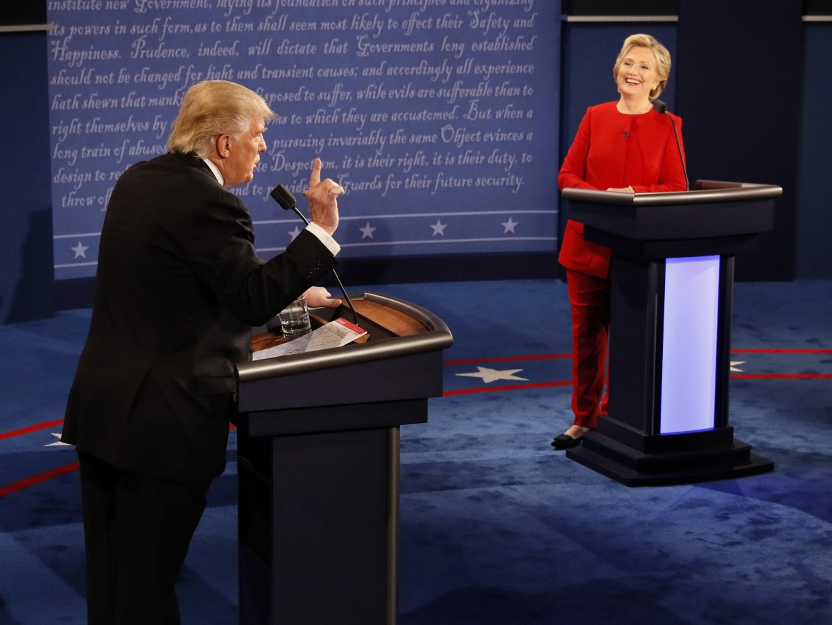 Donald Trump vows to hit Hillary Clinton harder in next presidential debate