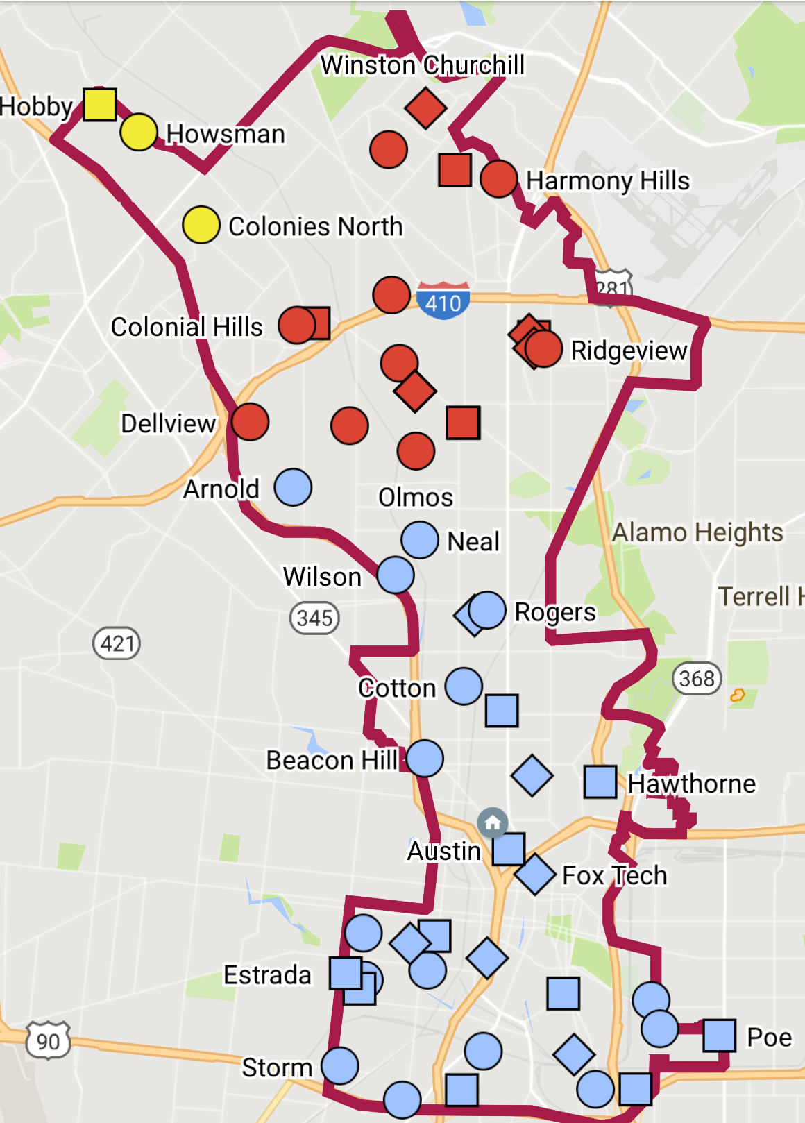 Map Of Texas House District 90.Map Of Texas House District 90 Twitterleesclub