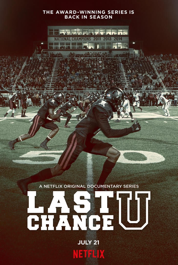 premium selection db04a 96c08 College football fans, get ready for the new season of the Netflix original  documentary series Last Chance U.