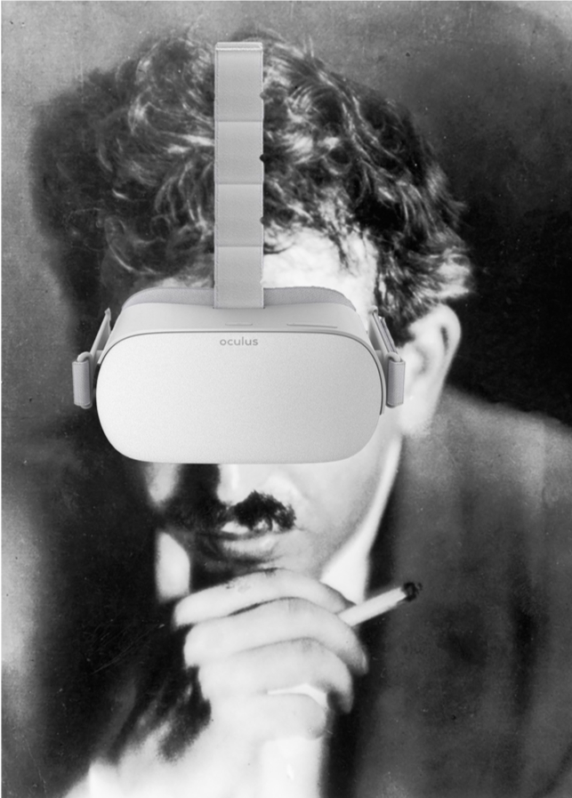 5065aa9851ee The Work of Art in the Age of Virtual Reality – MICHAEL BASS – Medium